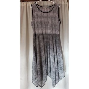 NWOT Elle Striped Dress